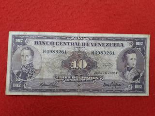 Billete De Colección Venezolano. El Famoso Cara Volteada