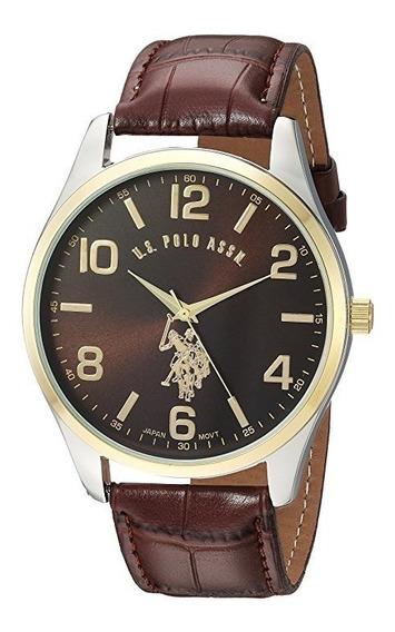 Reloj De Hombre Polo Modelo 50225 Cafe