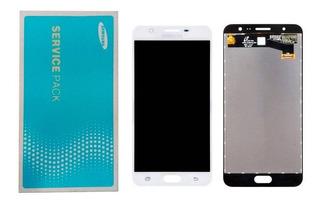 Lcd Display Touch Samsung J7 Prime Sm-g610m Branco Original!