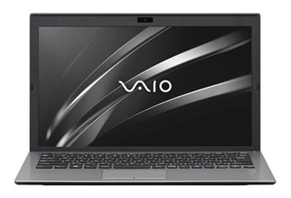 Notebook Vaio S13 Core I7 8gb Ssd 256gb W10 Home Prata
