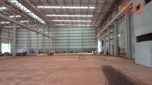 Imagem 1 de 5 de Galpão Industrial - Rodovia Dom Pedro I Sp-065 - Ga0091