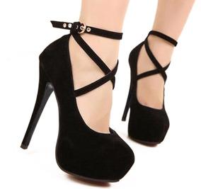 bb0c7a957 Sapato Estilo Boneca Salto Alto Preto - Sapatos no Mercado Livre Brasil