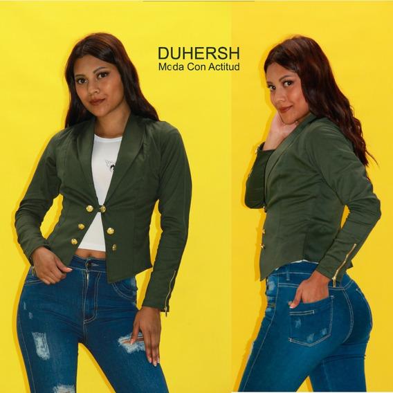 gran descuento d1684 0867a Blazer Verde Militar Mujer - Ropa y Accesorios en Mercado ...