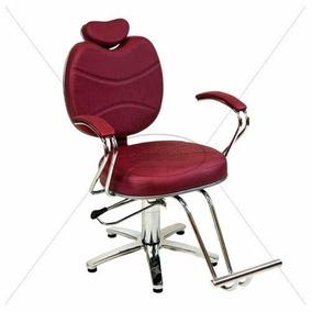 Poltrona Cadeira Topázio Reclinável Maquiagem E Sobrancelha