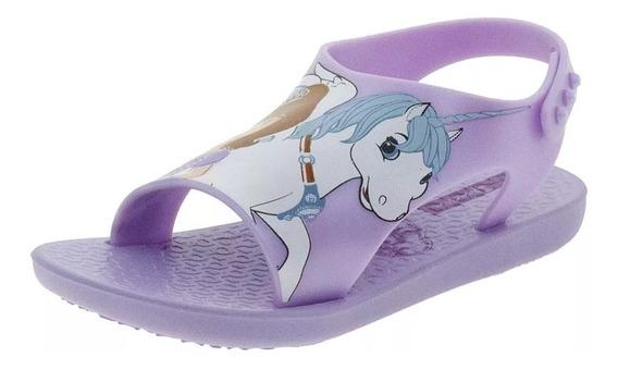 Chinelo Infantil Baby Princesas Disney Lilás Ipanema - 26279