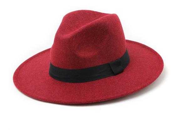 Sombrero Fieltro Paño Pharrel Mujer Hombre (5 Colores)