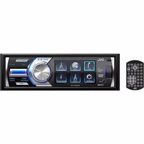 Dvd Cd Jvc Kd-av300 Tela 3 Mp3 Wma Aux Usb iPod/iPhone