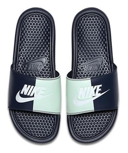 Sandalias Nike Mujer Azul Marino Benassi Jdi 343881406
