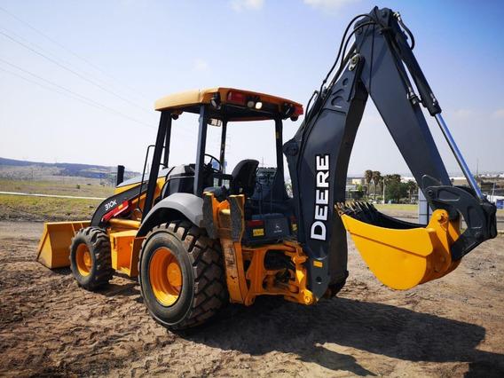 03) Retroexcavadora John Deere 310k 4x4 Kit Hid 2014