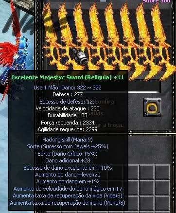 Muaway - Majestyc Sword Full + 11 - [envio Imediato]