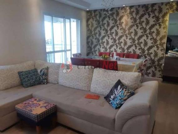 Lindo Apartamento Em Condomínio Clube Àvenda No Bairro Boa Vista, Em São Caetano - 6075