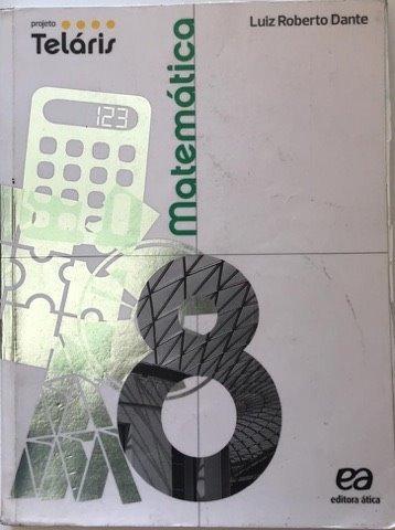 Livro Matematica 8 Projeto Telaris Atica Usado