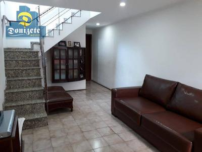 Sobrado Com 3 Dormitórios À Venda, 130 M² Por R$ 490.000 - Conjunto Residencial Jussara - São Bernardo Do Campo/sp - So2086