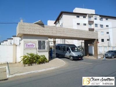 Apartamento 2/4, Family Picuaia - Lauro De Freitas - Ap00601 - 33742401