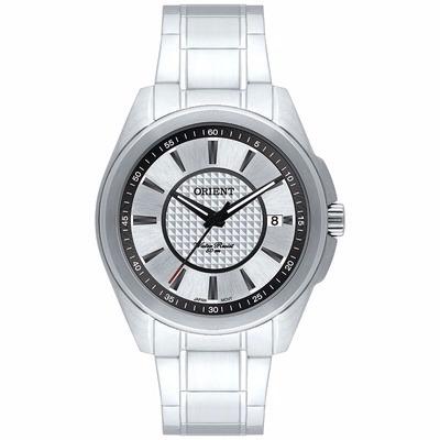 Relógio Orient Masculino Mbss1173 Aço Calendário
