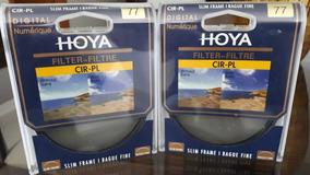 Filtro Polarizador Circular Hoya 77mm (canon, Nikon, Sony)