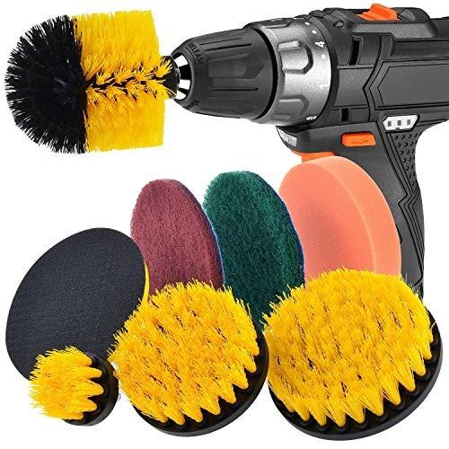 Herramienta de limpieza multiusos Cepillo de taladro para fregar con fuerza Revolver