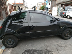 Ford Ka 00/01 Preto R$ 8000 Motor Novo