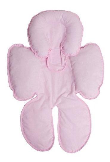 Capa Para Bebê Conforto E Carrinho Anatômica Feminina Rosa