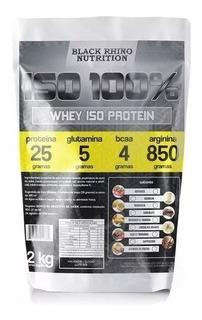 Whey Iso Protein 100% Proteina Isolada 2 Kilos