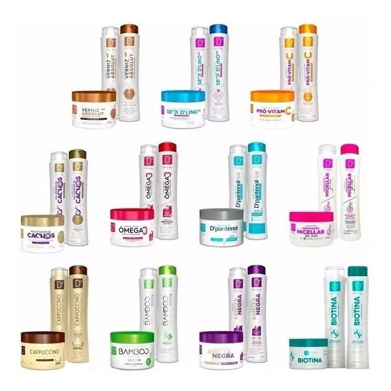Shampoo + Condicionador + Máscara = 15 Produtos !!!