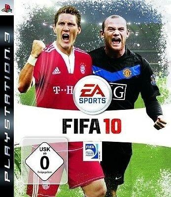 Jogo Fifa 10 De Playstation 3 Ps3 / Midia Fisica