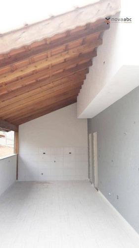 Imagem 1 de 19 de Cobertura Com 2 Dormitórios À Venda, 90 M² Por R$ 402.000 - Vila Eldízia - Santo André/sp - Co1202