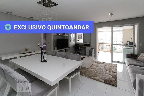 Apartamento No 10º Andar Mobiliado Com 2 Dormitórios E 2 Garagens - Id: 892880053 - 180053