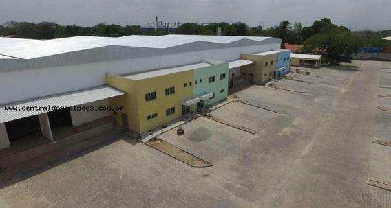 Galpão Para Locação Em Fortaleza, Passare - Tey67_2-806968