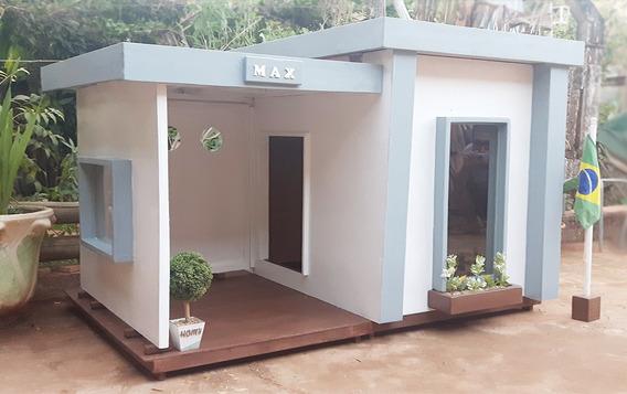 Casa De Cachorro Gigante. De Madeira. Para Exterior. Homy