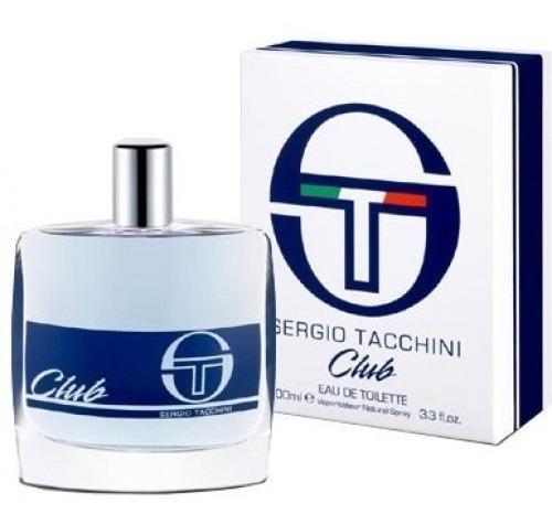 Perfume Sergio Tacchini Club Eau De Toilette Masculino 50ml