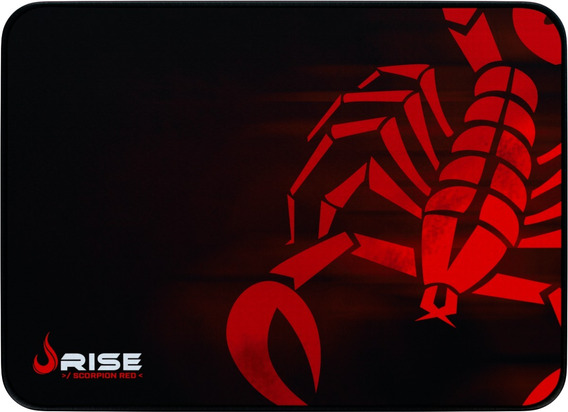Mousepad Rise Mode Gamer Scorpion Red - M Costu Rg-mp-04-sr