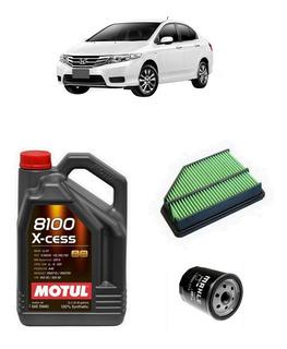 Service Honda City 1.5 Aceite Filtros X2 Escaneo Revision