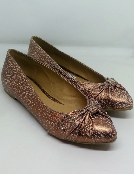 Chatitas Mujer Cuero Sucre Art 708551 Zona Zapatos