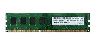 Memoria Apacer Ddr3 2gb Pc3-10600u-09-10-b0 1333mhz Para Pc