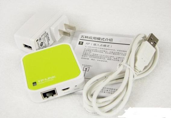 Roteador Tp -link Tl- Wr702n 150m Mini Wifi Wireless Para iPad / Pc / Telefone