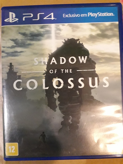 Shadow Of The Colossus Jogo Ps4