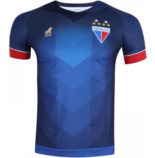 Camisa Do Fortaleza Leão 2019 Original Home Azul Promoção