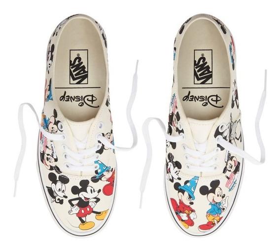 Tenis Vans Authentic Disney Mickey Mouse Birthday