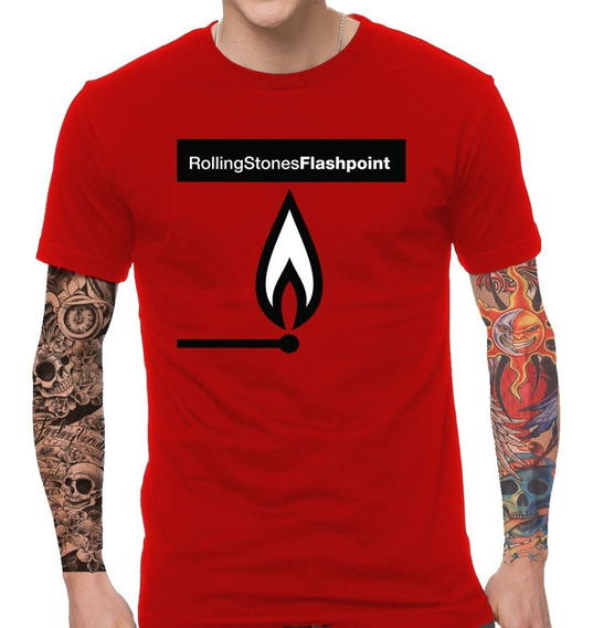 Remera Rolling Stones Flashpoint