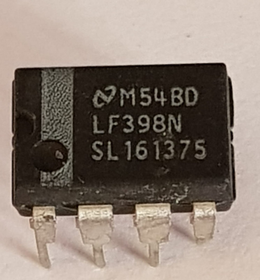 2 Pcs--ci Lf398n Ampl. Operacional 1mhz 1 Canal Dip-8 (gv04)