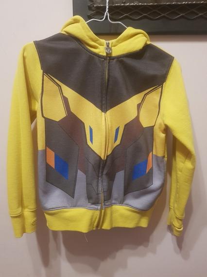 Buzo Transformers Niño Amarillo Talle 10 Usado