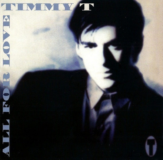 Timmy T Cd All For Love 1991 Nuevo
