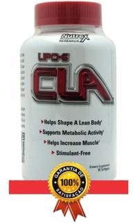 Lipo-6 Cla Nutrex 90 Caps Importado Ácido Linocleicco Conjug