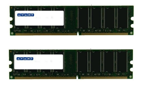 Memorias Avant 2gb Kit 2x1gb Ddr 400 Pc-3200r Ecc Registered Server