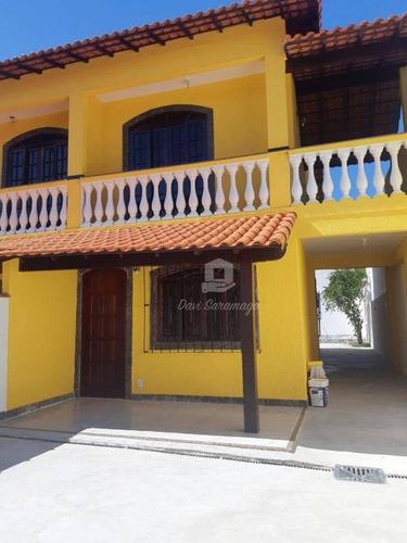 Imagem 1 de 30 de Casa Com 3 Dormitórios À Venda, 180 M² Por R$ 380.000,00 - Jardim Atlântico Oeste (itaipuaçu) - Maricá/rj - Ca0660
