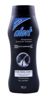 Shampoo Alert For Men Cabello Normal 400ml Genomma Lab