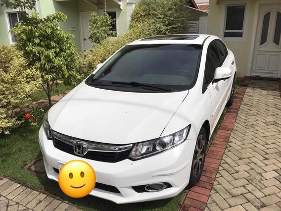 Honda Civic 1.8 Exs Flex Aut. 4p 2013