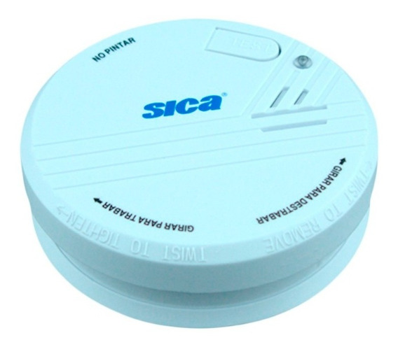 Detector De Humo Autonomo C/ Bateria 9v Sica Oficial
