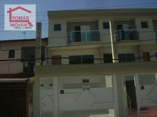 Imagem 1 de 7 de Sobrado Residencial À Venda, Chácara Inglesa, São Paulo. - So0198